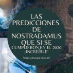 Las PREDICCIONES de Nostradamus que SI se cumplieron en el 2020 ¡Increíble!